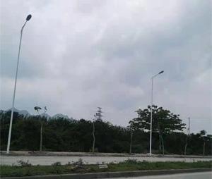 广西南宁苹果高速公路引导